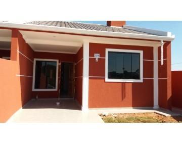 Casa com espaço lateral, casa com 3 quartos em Fazenda Rio Grande