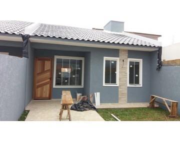 Casa em Fazenda Rio Grande, casa nova no Condomínio Green Field