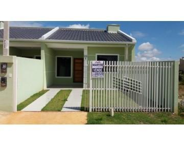 Casa em Fazenda Rio Grande com 2 quartos, Condomínio Green Field