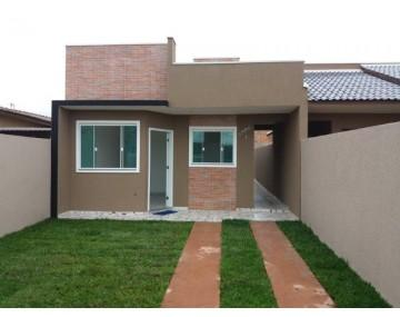 Casa em Fazenda Rio Grande, casa com 3 quartos, com amplo terreno