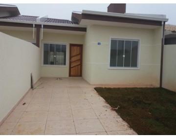 Casa nova em Fazenda Rio Grande, 3 quartos, no Bairro Eucaliptos.