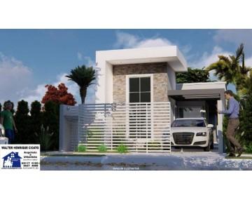 Casa 4 quartos Residencial Jardim Brasil em Fazenda Rio Grande.