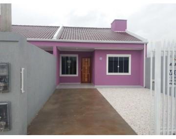 Casa com 3 quartos em Fazenda Rio grande casa no Jardim Brasil.